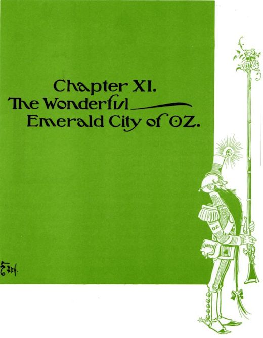 The Wonderful Wizard Of Oz Chapter 11 Image 1