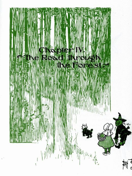The Wonderful Wizard Of Oz Chapter 4 Image 1