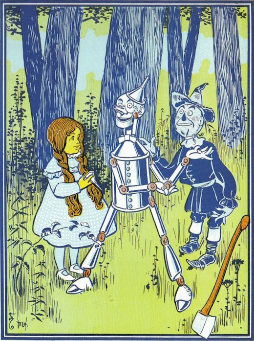 The Wonderful Wizard Of Oz Chapter 5 Image 2