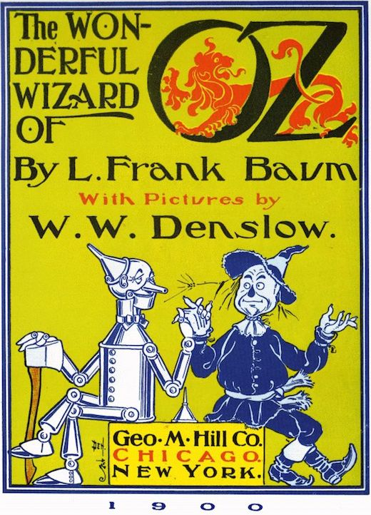 The Wonderful Wizard Of Oz Front Matter Image 1
