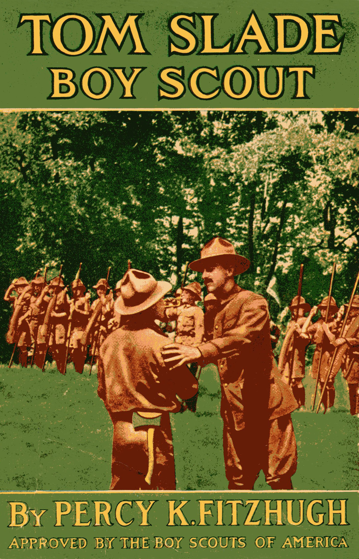 Tom Slade Boy Scout Front Matter 1